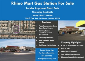 Gas Stations For Sale in Nevada